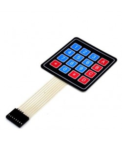 MatLogix 4x4 Matrix Membrane Keypad for Arduino