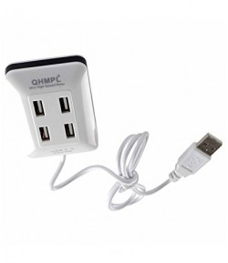 Quantum  4 Port USB Hub(color may vary)