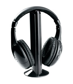 Wireless bluetooth Headphone (Black, Over the Ear)
