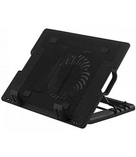 Notebook Cooling Pad  Fan With Usb Pass Through Laptop Cooler with 1 Large Fan for Laptops, Macbook Pro