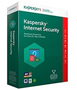 Kaspersky Internet Security 2017 - 3 PC, 1 Year