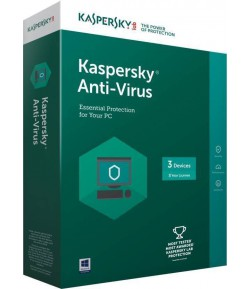 KASPERSKY Kaspersky antivirus 3pc 3 year