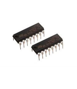 2Pcs of L293D Motor Driver IC + 2PCS IC Base