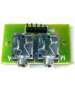 Audio jack PCB DEVELOPMENT BOARD